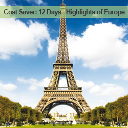 12 Days Highlights of Europe