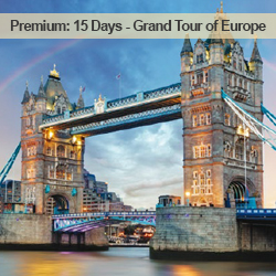 15 Days Grand Tour of Europe