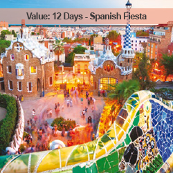 12 Days Spanish Fiesta