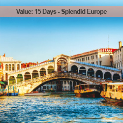 15 Days Splendid Europe
