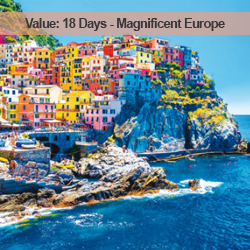 18 Days Magnificent Europe