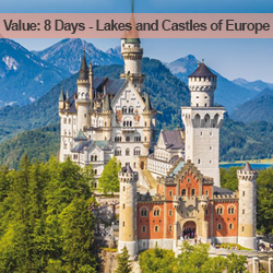 8 Days Lakes and Castles of Europe
